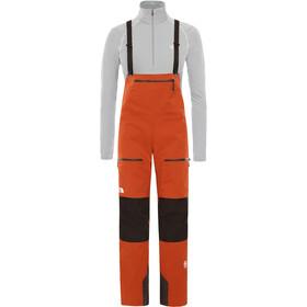 The North Face L5 Täysvetoketjulliset Bib-housut Naiset, picante red/tnf black